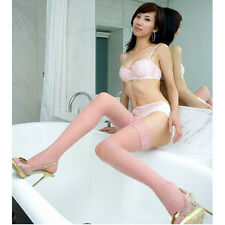 HOTSexy Lady Womens Lace Top Stay Up Thigh High Stockings Pantyhose Long Socks