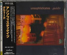 """Japan CD Import with Obi Strip, Unsophisticates; """"Guido"""" WPCR 1338"""