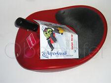 AlpenGaudi Kunststoffrodel Rutscher Rodel Bob rot Alpenzipfel Zipfel Bob