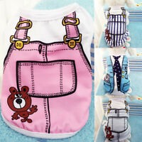 Cute Small Pet Dog Apparel Vest Puppy Cat Coat Clothes T-shirt Summer Vest XS-XL
