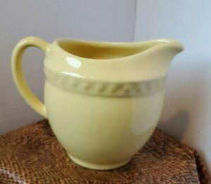 Hospitality Collection Yellow Creamer