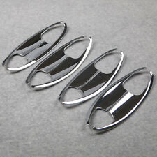 Chrome Door Handle Bowl Cover Trim Trims Fits Honda Accord MK9 2013 2014