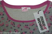 **NEU** Maui Wowie !! Sweatshirt Gr. 42 (XL) //  grau, pink + dunkelblau
