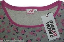**NEU** Maui Wowie !! Sweatshirt Gr. 40 (L) //  grau, pink + dunkelblau