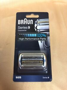 Braun Shaver Replacement Part 92S Silver for Series 9 Cassette Brand New Sealed!