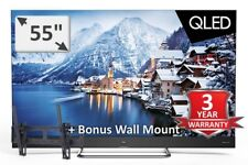"TCL 55"" NEW 2018 TOP OF THE RANGE QUANTUM DOT QLED HDR NETFL STAN MODEL: 55X4US"
