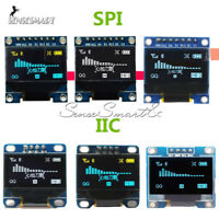 "0.96"" I2C IIC SPI OLED Serial 128X64 LCD LED Display Module White Blue Yellow"