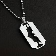 Batman Dog Tag Stainless Steel Silver Superhero DC Comics Necklace Chain Pendent