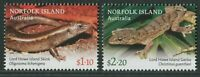 LIZARDS 2021 - MNH SET OF TWO (BR32)