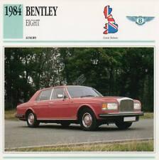 1984 BENTLEY EIGHT Classic Car Photograph / Information Maxi Card