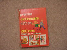 French Dictionary for kids  Nathan 200 words