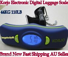 KORJO DSL82 Digital Hanging Weighing Travel Luggage Scale-weight up to 44kg New