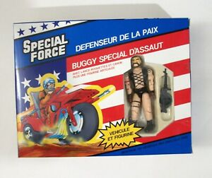 NEW 1989 Remco Special Force Assault Buggy 3 3/4 Action Figure US Forces