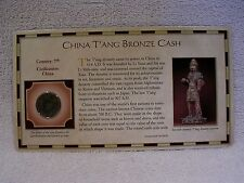 China T'ang Bronze Cash Coin - 7th Century - Circa 618-907 A.D. - T'ang Dynasty