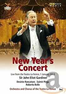 New Year's Concert 2013 [Sir John Elliot Gardiner, Desiree Rancatore,[Region 2]