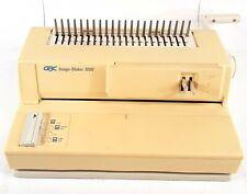 GBC Image-Maker 1000 Manual Comb Binding Machine B677