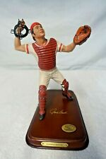 Johnny Bench Red Player Danbury Mint Figurine #5