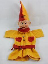 "Walt Disney Snow White 12"" Dopey Hand Puppet by Crown Toys"