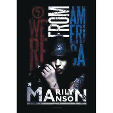 MARILYN MANSON - AMERICAN GRAFFITI - FABRIC POSTER - 30x40 WALL HANGING HFL1089