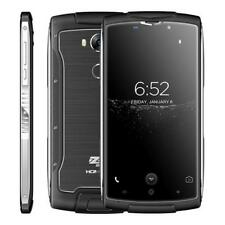 "Wasserdicht HOMTOM ZOJI Z7 4G Handy Smartphone 5.0"" Quad Core 2GB+16GB Schwarz"