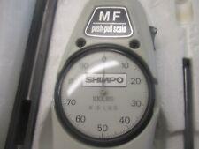 Shimpo Mf-100 Push-Pull Scale. 100Lbs X.5 Lbs <