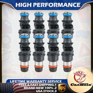 Set of 8 Fuel Injectors Delphi 25317628 For 99 -07 Chevy Silverado Suburban 5.3