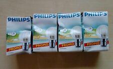 4 x Philips LED b22 Dimmable Bayonet Fitting Light Bulbs