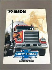 1977 CHEVROLET BISON TRUCK WALL CLOCK-FREE US SHIP!