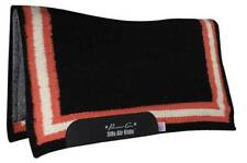 Professional's Choice Felt Black Melon Comfort Fit Pro Western Saddle Pad 33x38