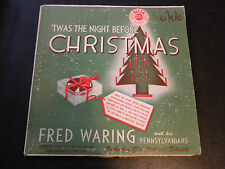 Twas The Night Before Christmas - Fred Waring  DECCA 33 1/3 RPM long play Record