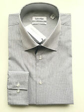 Calvin Klein Formal Shirt Size 42 Sleeve 92 Check Slim Fit Business Ck 1