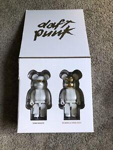 Daft Punk Medicom Bearbrick 400% White Suit Version Set *READ DESCRIPTION*