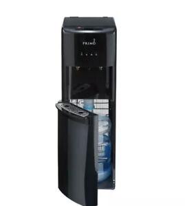 HOT. Primo Water Dispenser Bottom Loading, Hot/Cold Temperature, Black