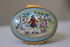 Halcyon Days English Enamels Royal Legends Collection Trinket Box Vintage