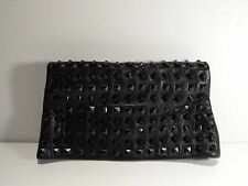 Romygold 10 row studded fold over clutch