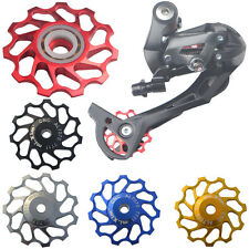11T For SHIMANO XT & SRAM Bicycle Pulley Jockey Wheel Steel Bearing Derailleur