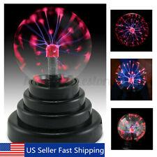 3'' USB Magic Glass Plasma Crystal Ball Light Home Party Lamp Fun Science Gift