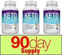 Keto Diet DETOX Pills 1532 MG- Weight Loss Fat Burner Supplement for Women & Men