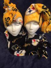 Mohawk Fleece Hat, Scarf & Long Cap Steelers (S/M)