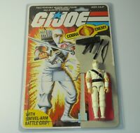 Lot 1984 GI Joe White Ninja Storm Shadow v1 Figure File Card Back 100% Complete