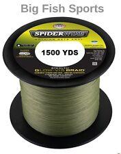 SPIDERWIRE STEALTH GLOW-VIS Braid Fishing Line 10LB-1500YD #SS10GV-1500 NEW!