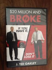 $20 Million And Broke - J Ted Oakley (2 Audio CDs)