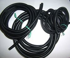 "1/4"" 3/8"" 1/2"" Split Wire Loom Conduit 10 Ft. of each Polyethylene Tubing 30 Ft"