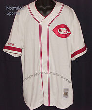 Vintage 90s Cincinnati REDS STARTER Jersey SEWN MLB Cooperstown *1935* NWT NOS