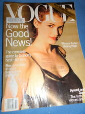 Vogue 10/1993 Rebecca Gayheart fur Kristen McMenamy Martin Scorsese Bridget Hall