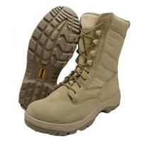 "*SALE*- Work Zone 8"" Waterproof Desert Tactical Boot -N875"