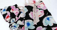 Peter Alexander Womens Black Poppy Shortie PJ Set BNWT- Choose Size