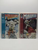 Manhunter DC Comics #21 & #22 Jan 1990 Comic Book Lot C9