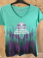 Formula One Singapore Grand Prix 2015 F1 License T-Shirt Size Large Unisex