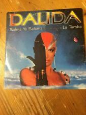 CD SINGLE DALIDA SALMA YA SALAMA LA TUMBA pochette cartonnee